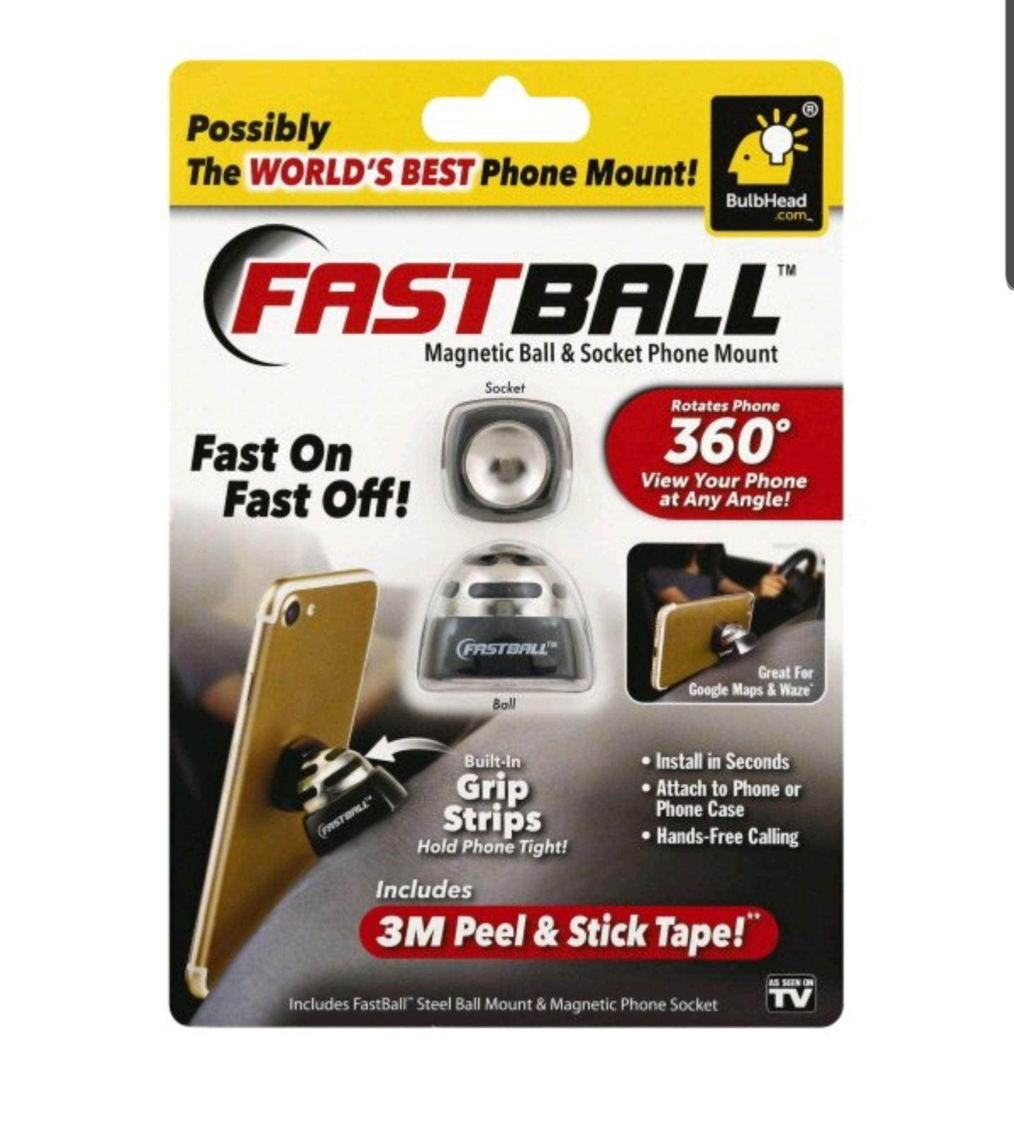 AsSeenOnTV Fastball Magnetic Phone Mount