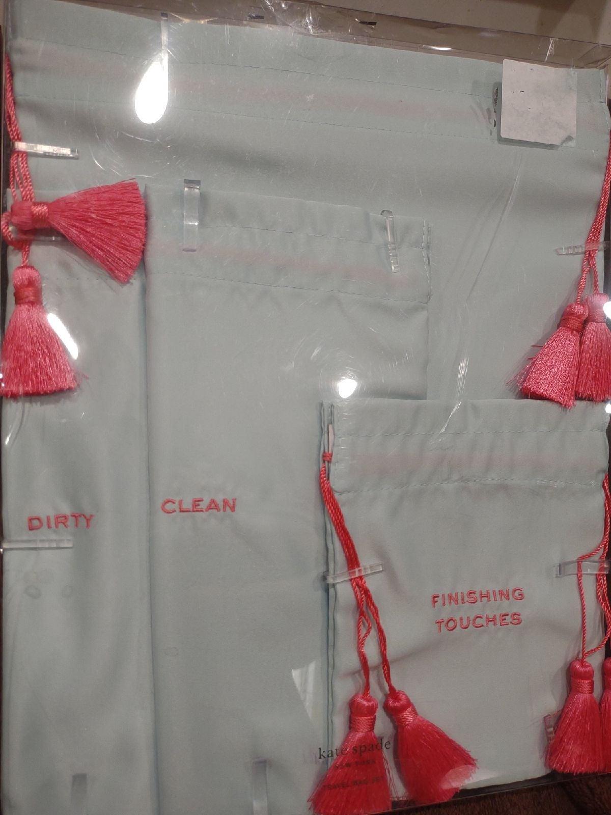 Kate Spade 4-Piece travel bag set new