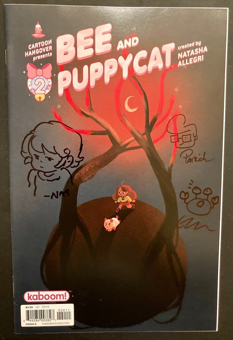 Bee and Puppycat #2 NM Signed & Sketched