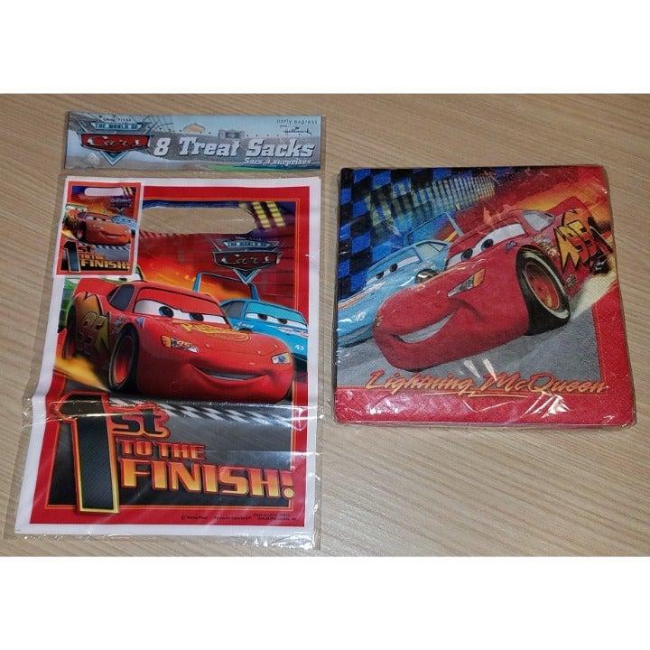 Lightning McQueen Disney Cars Napkin Bag