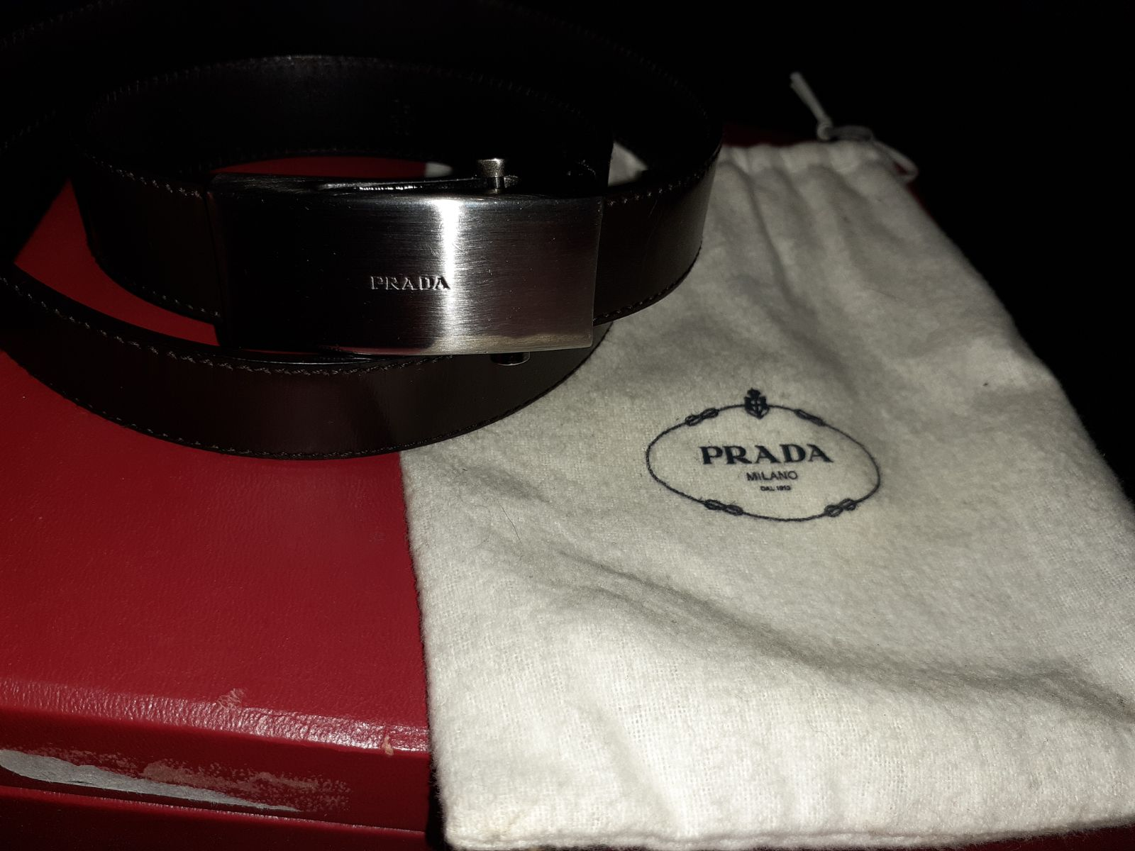 Womans Prada belt