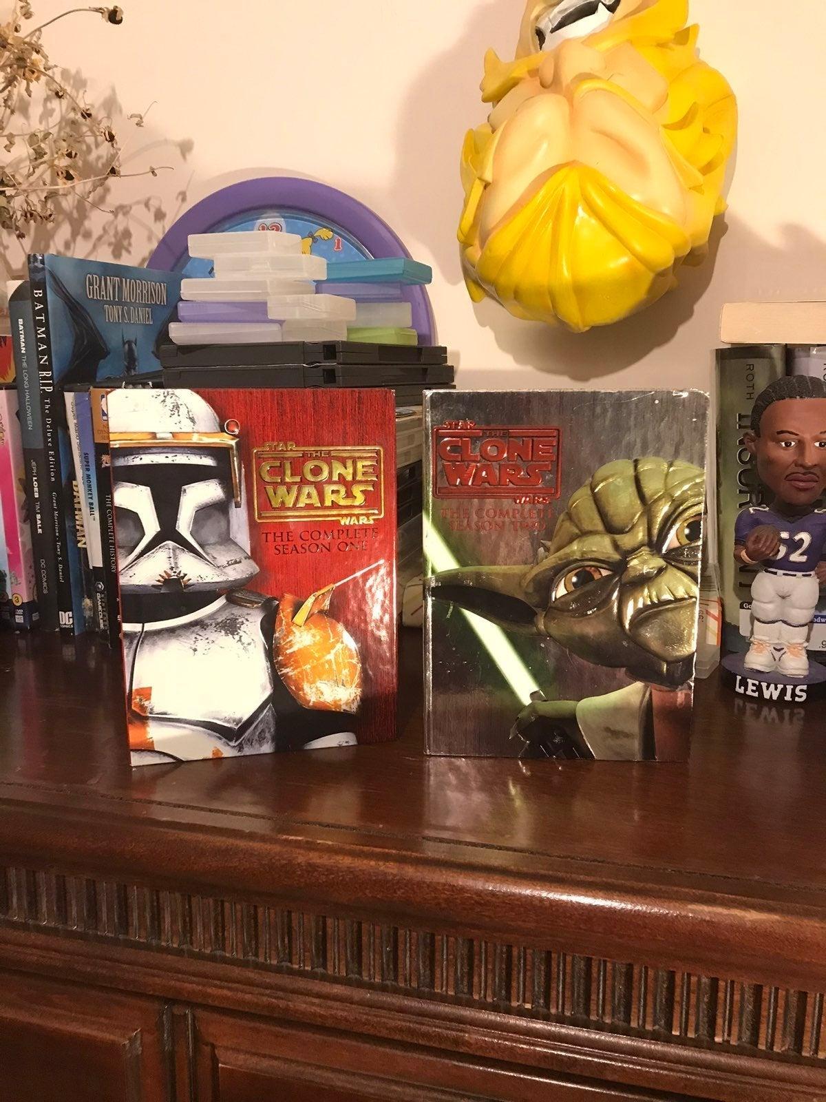 Star Wars Clone Wars Collectible Seasons