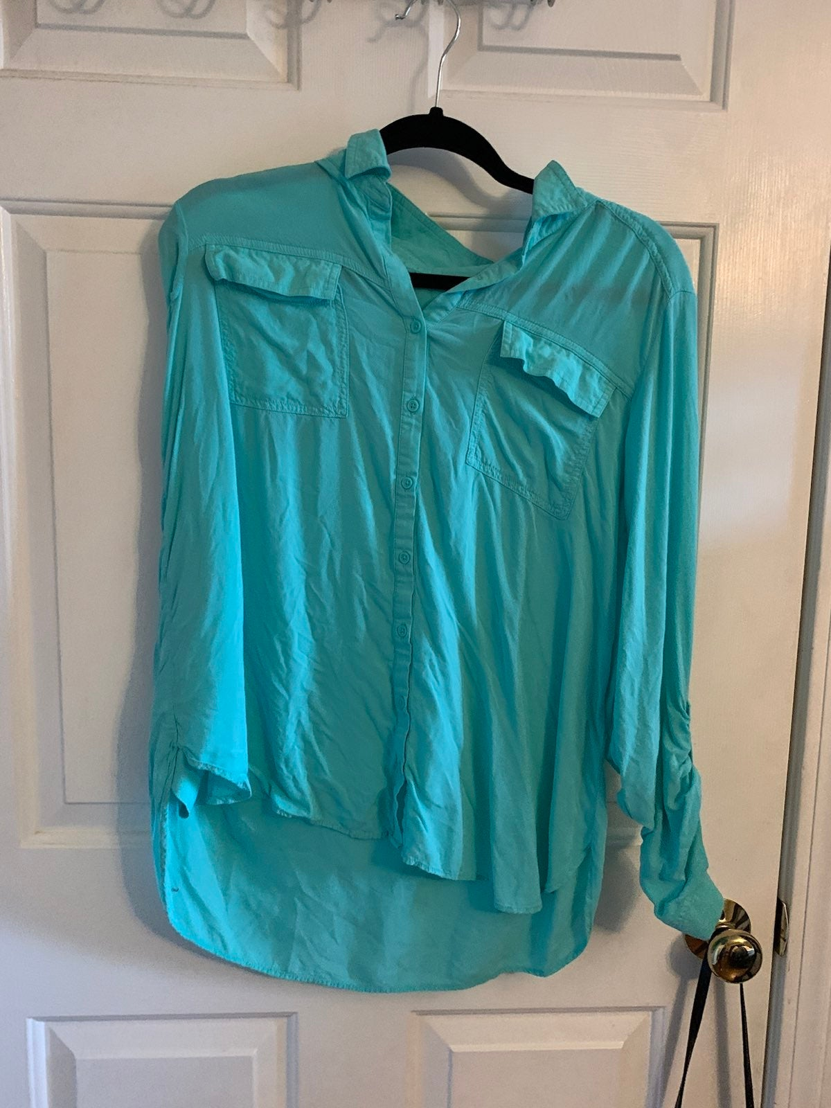 blouses for women xl mint green