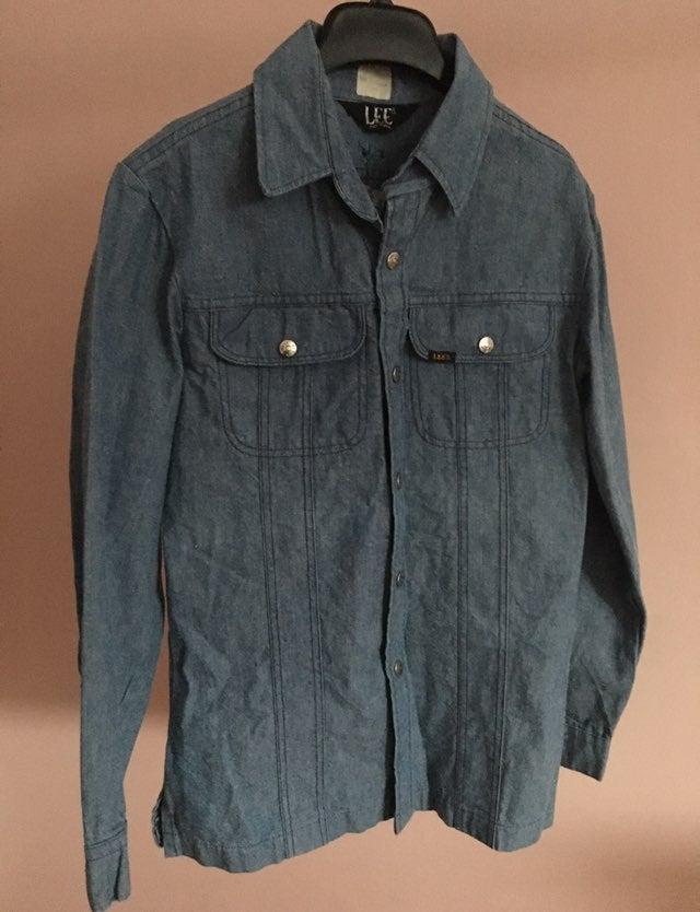 Vintage Lee Button Shirt / Jacket