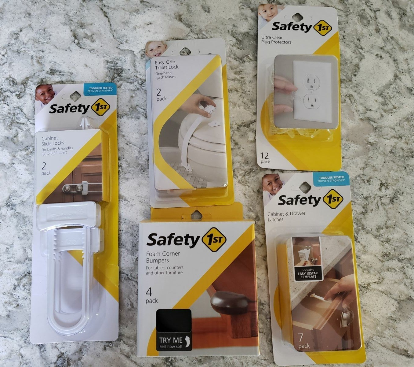 Safety 1st BABY proof lot
