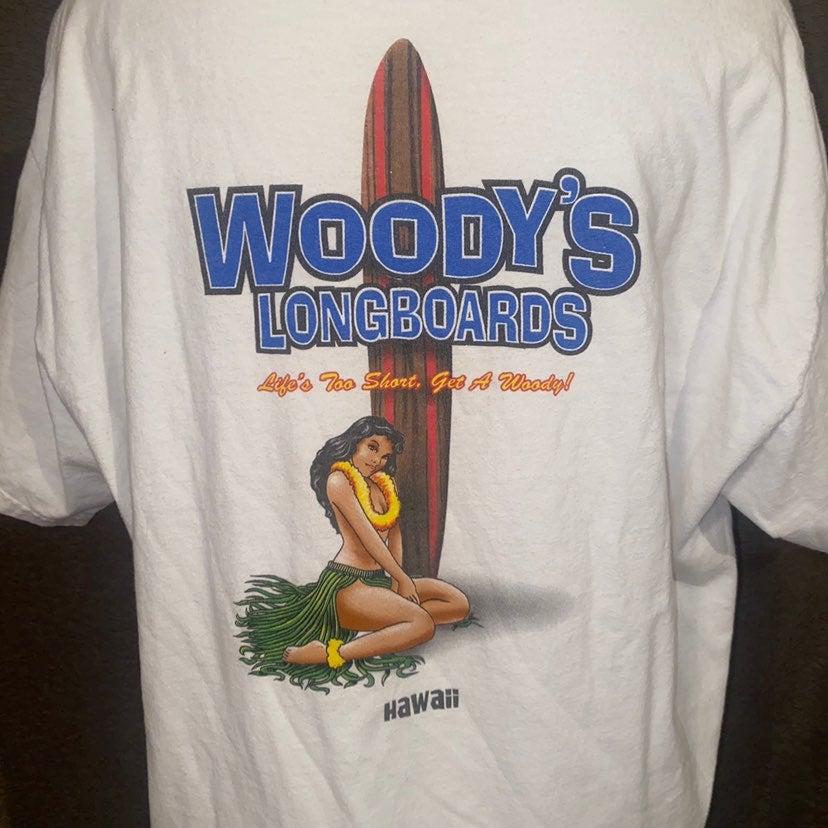 Woodys longboards Shirt