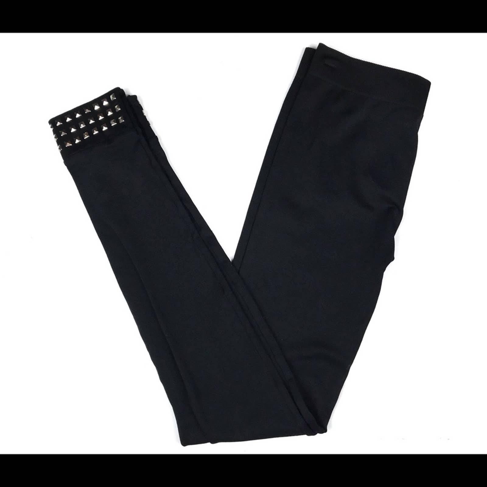 PINK ROSE Black Leggings Sz Small