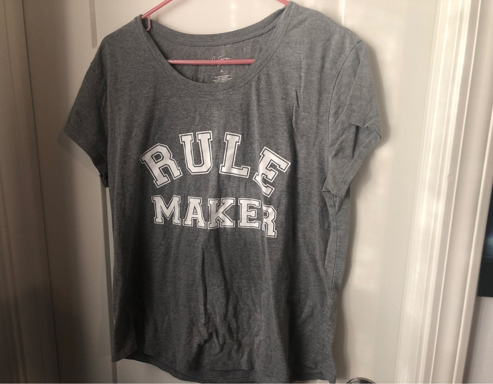 Rule maker shirt
