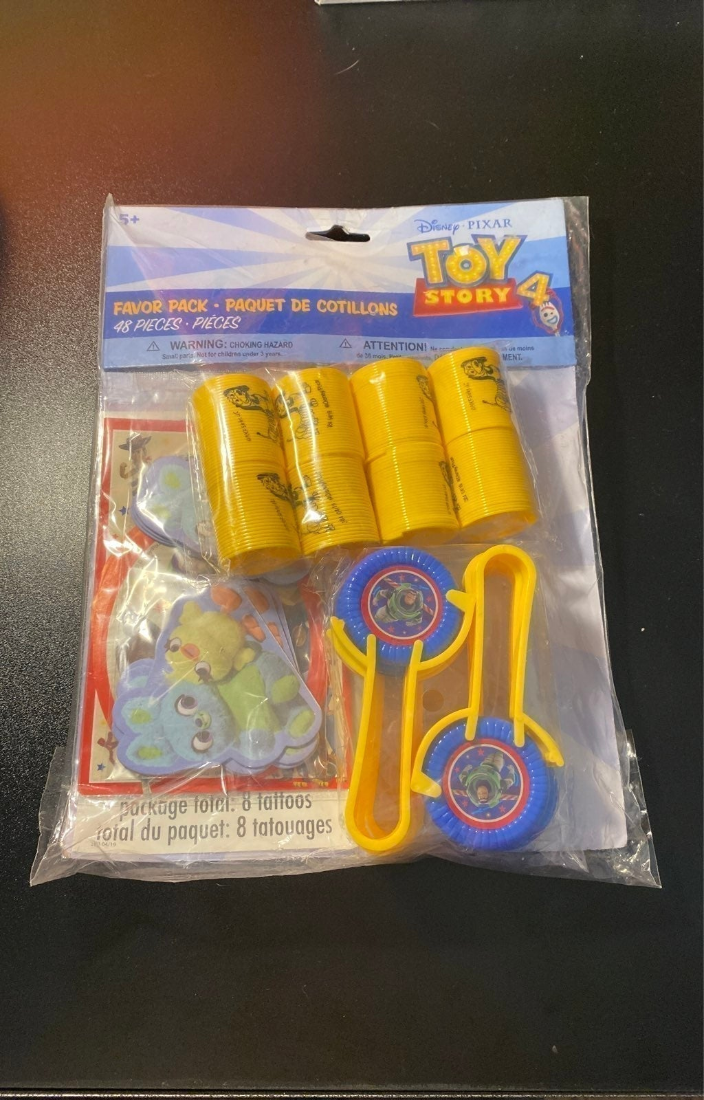 Toy Story 4 party favors