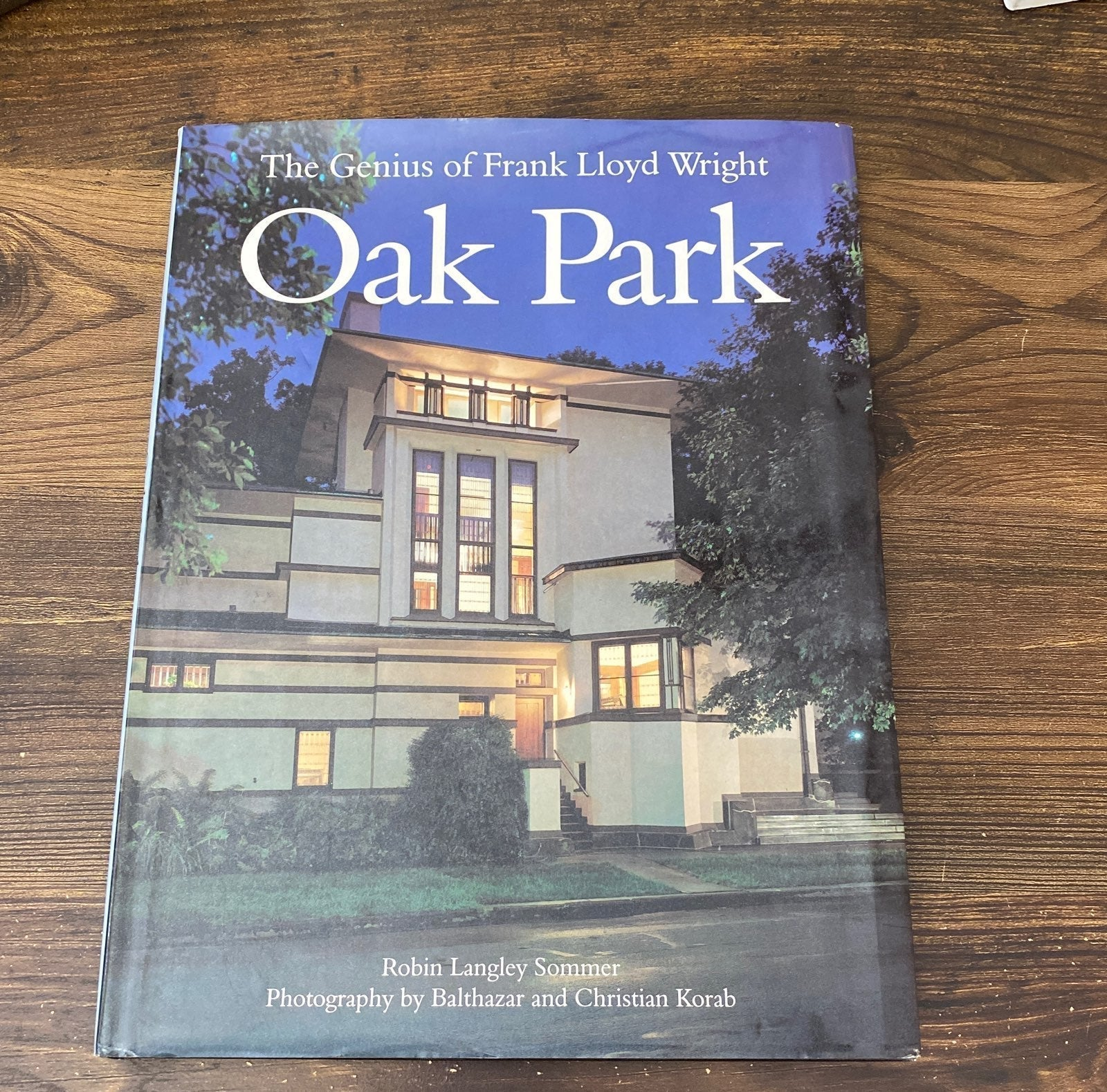 Frank Llyod Wright. Oak Park