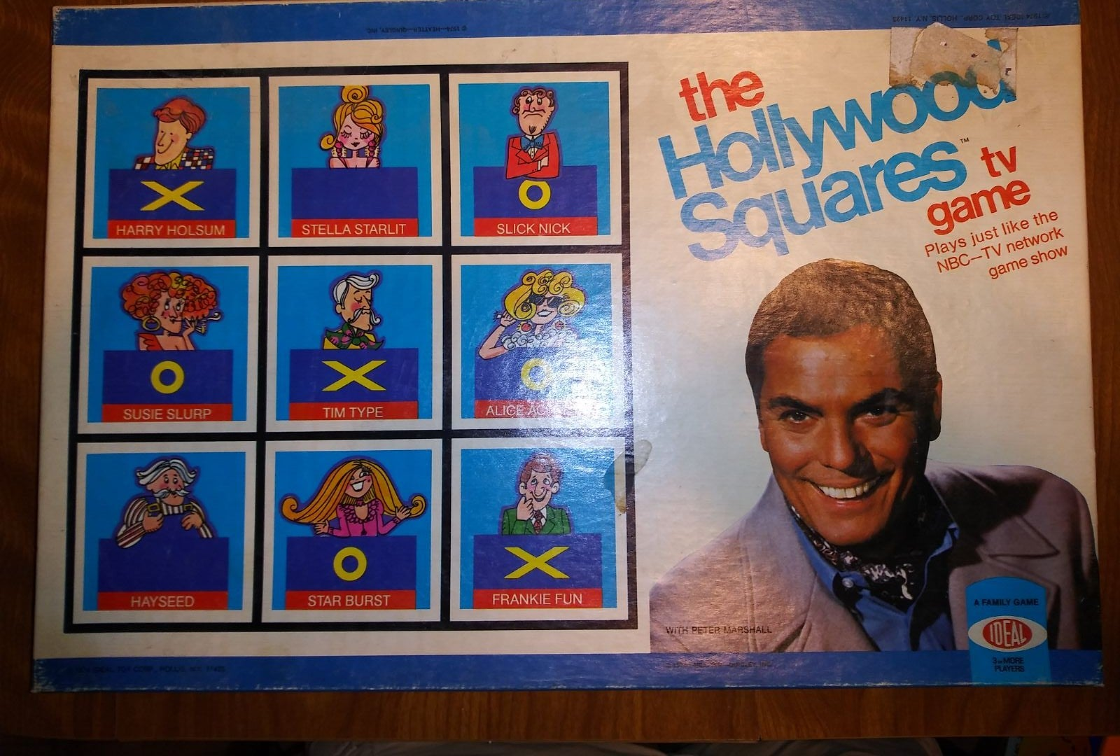 VINTAGE The Hollywood Squares TV Game Sh
