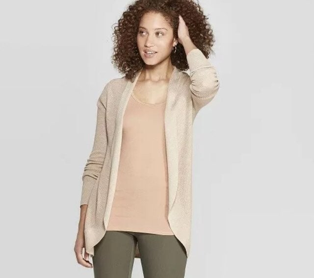 NWT A New Day Essential Cocoon Cardigan