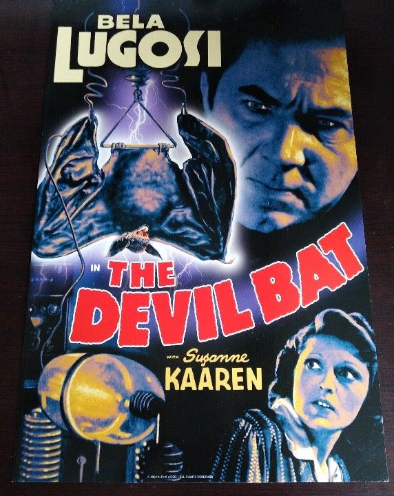 The Devil Bat Poster