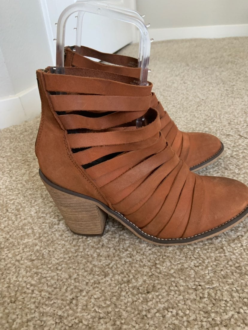 free people Hybrid Slashed Ankle Boots