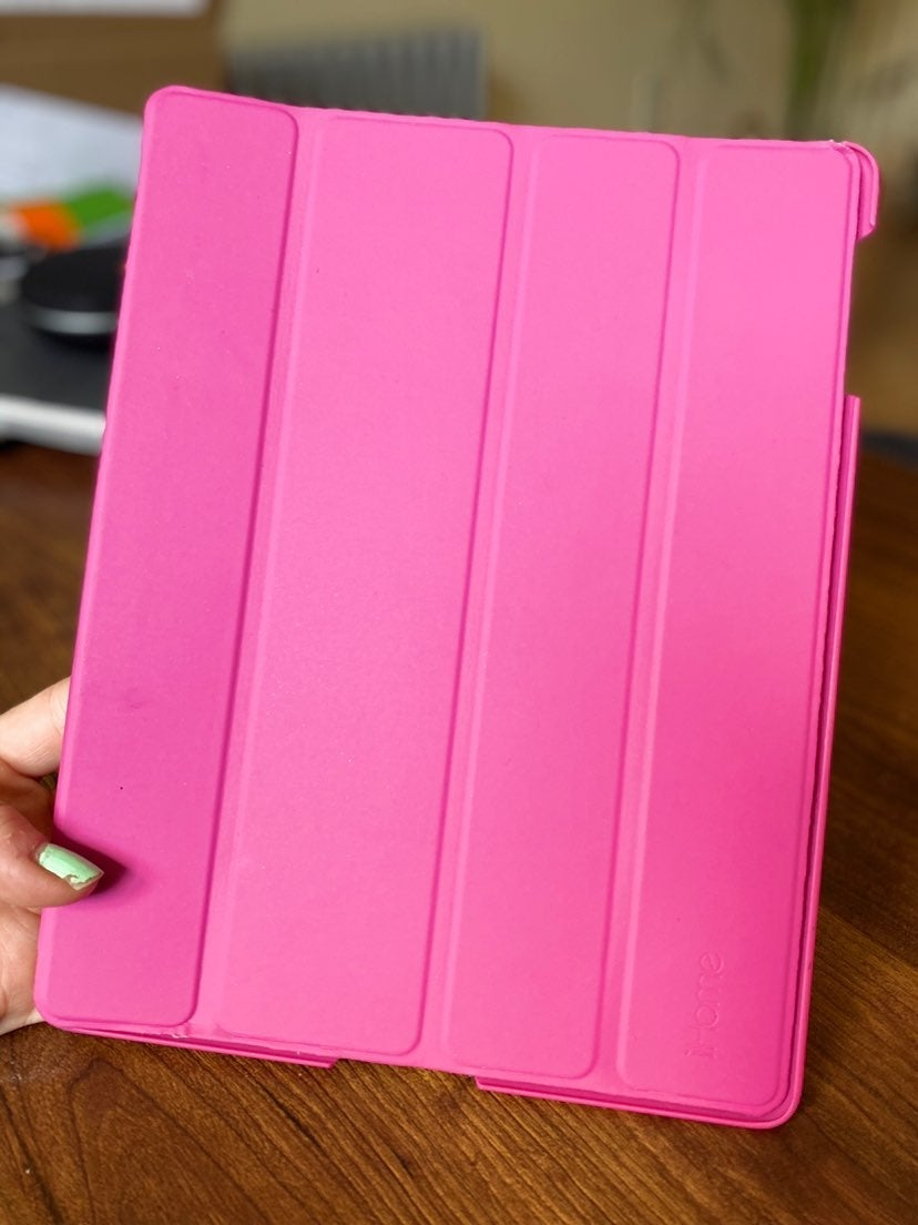 Ipad pink case cover ihome brand