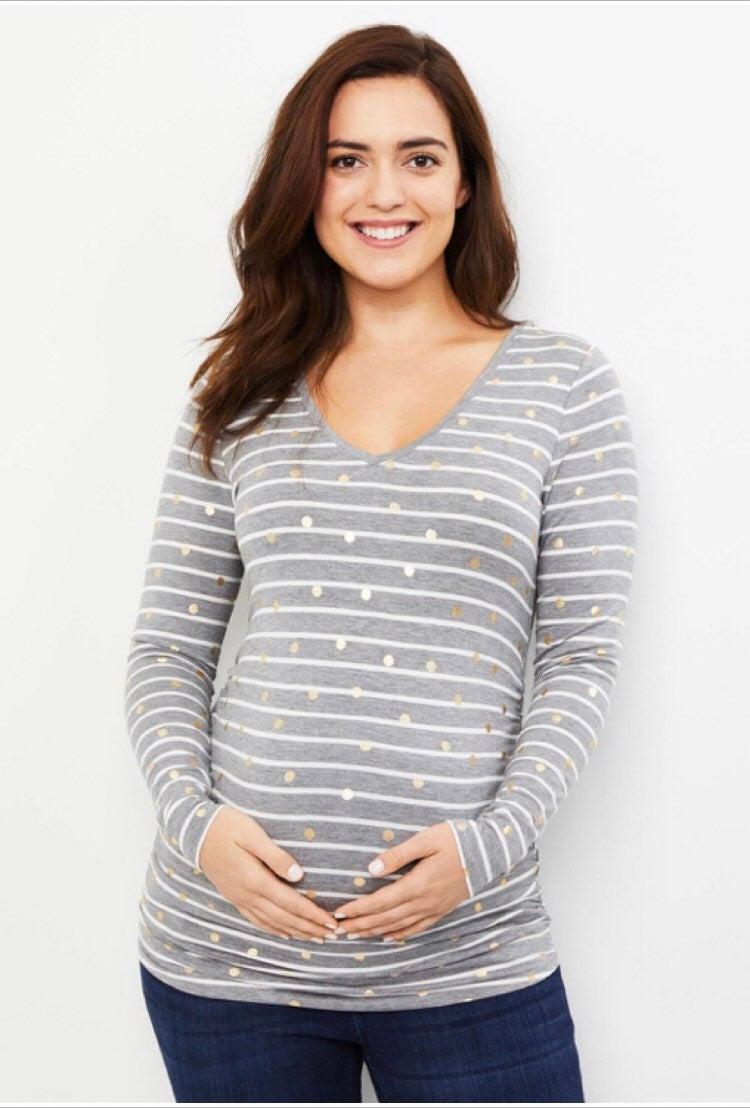 Motherhood Maternity long sleeve tee xs