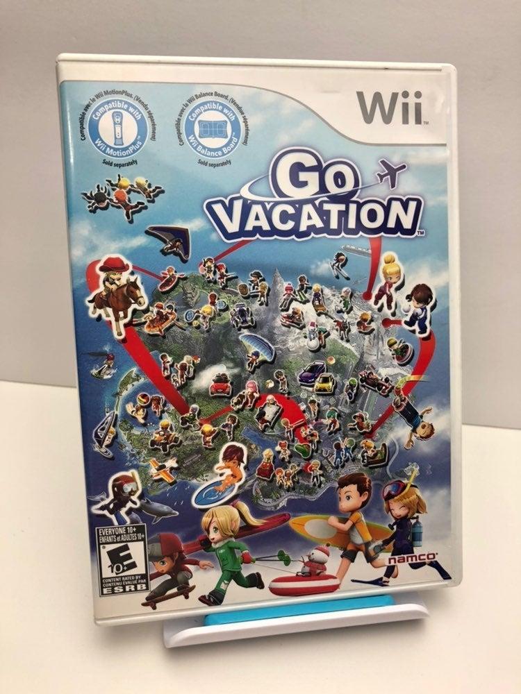 Go Vacation on Nintendo Wii