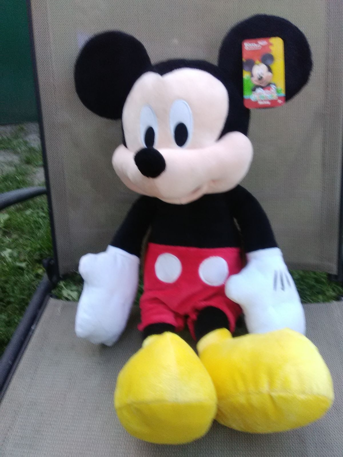 """23"""" Plush Mickey Mouse Toy"""