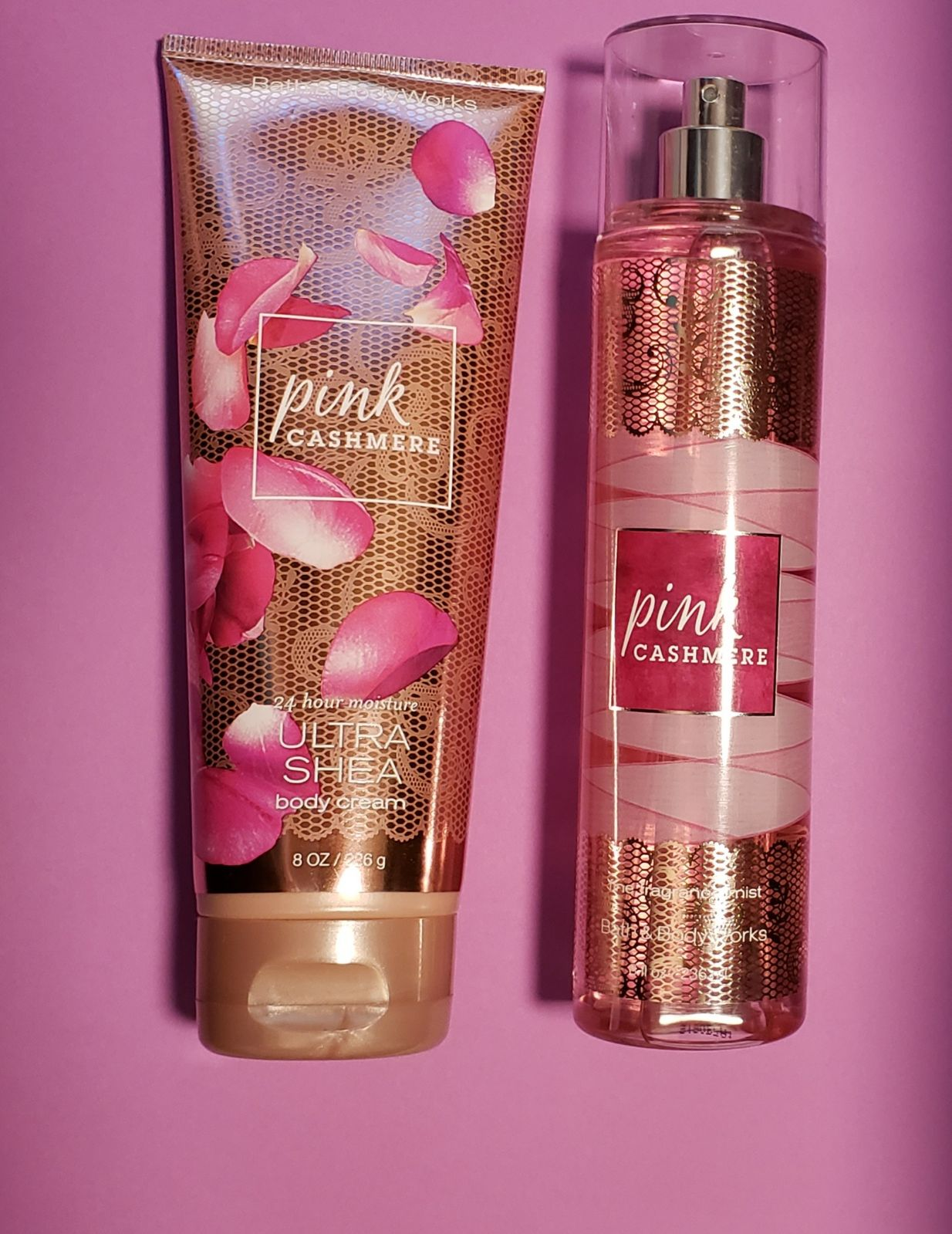 Bath and Body Works Pink Chashmere