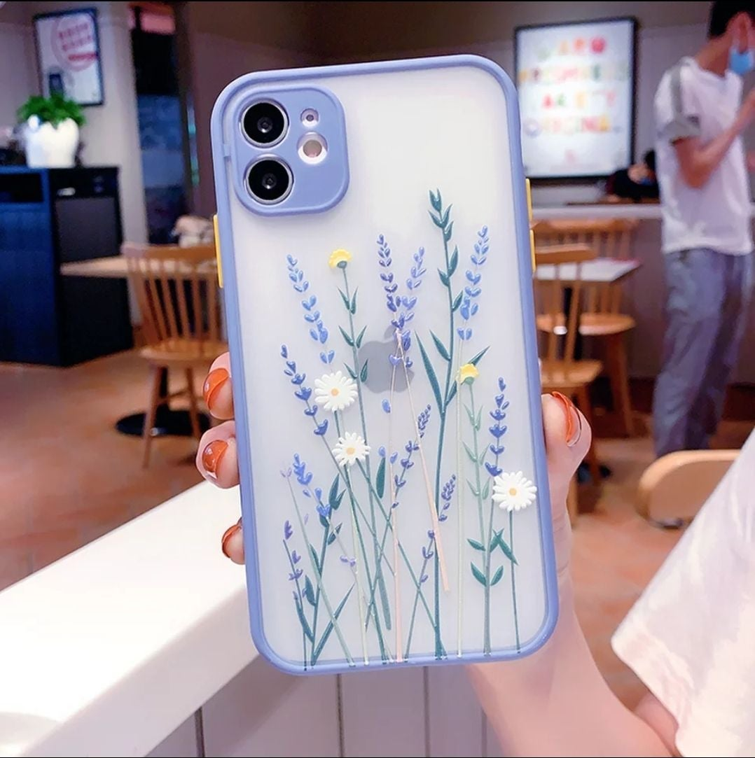 Iphone 12 case Floral Heavyduty