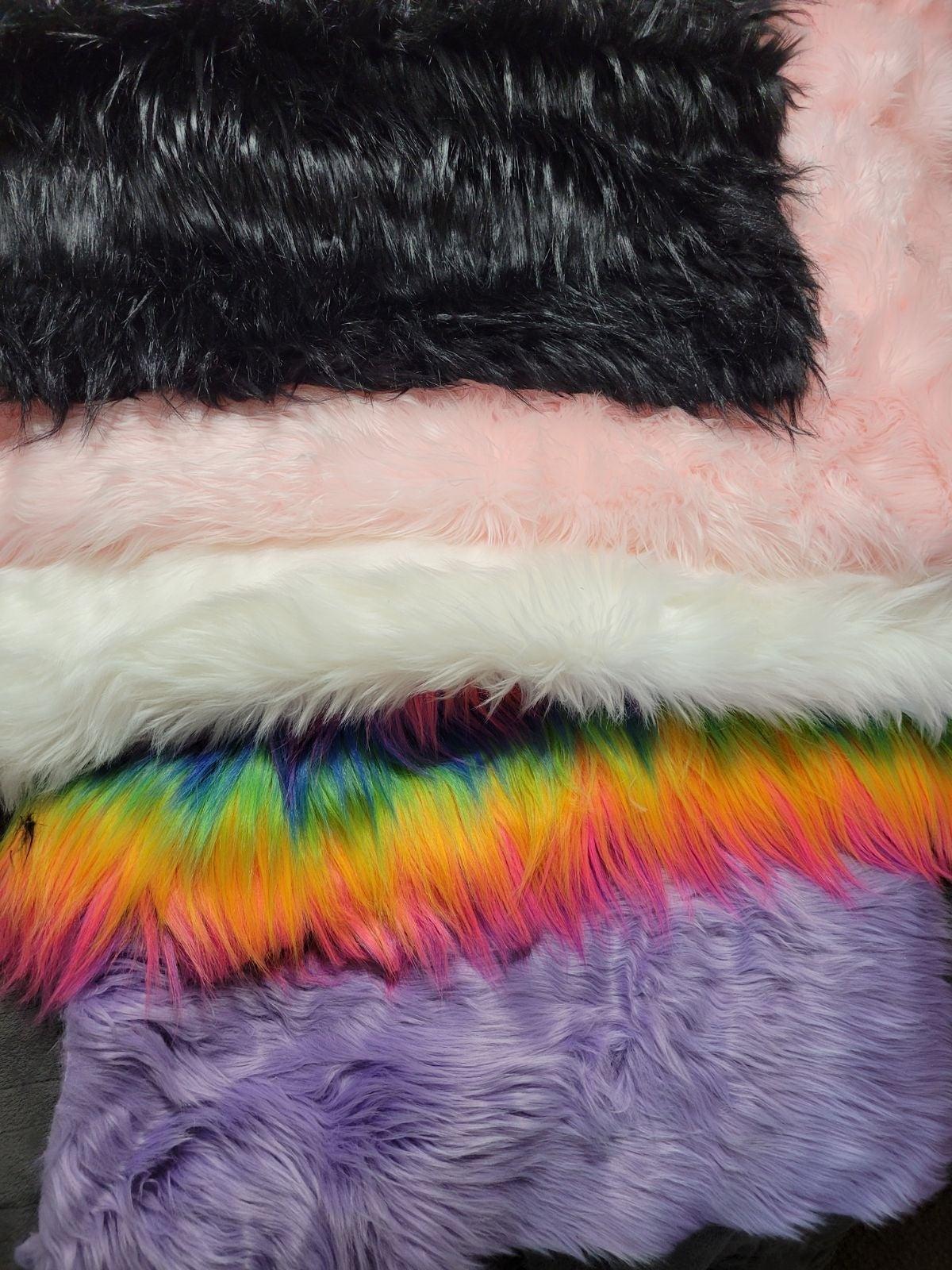 Shag Faux Fur Craft Lot Plus Cosplay Ear