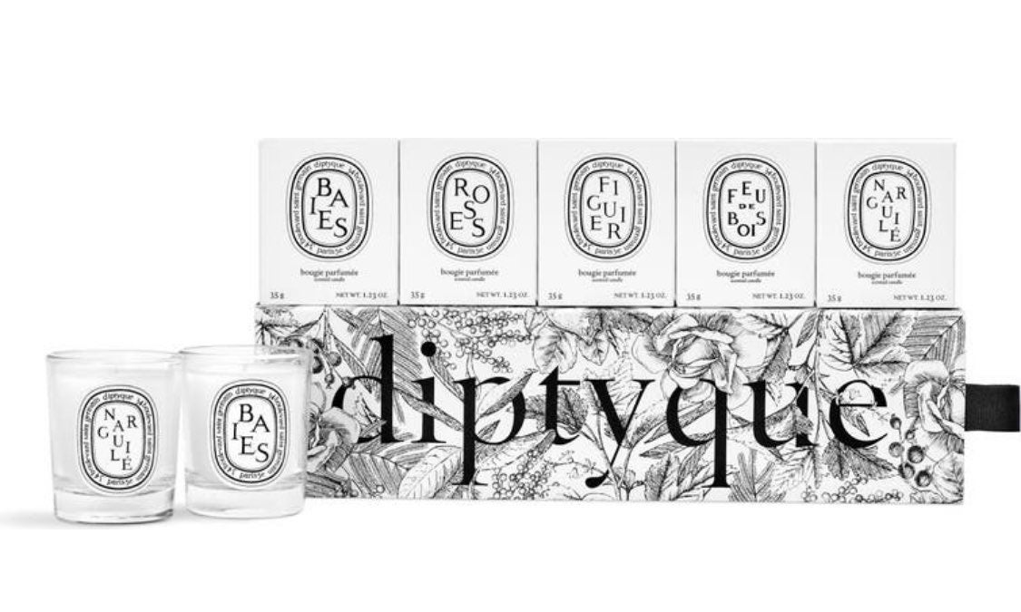 DIPTYQUE Discovery set 5 x 35g candles