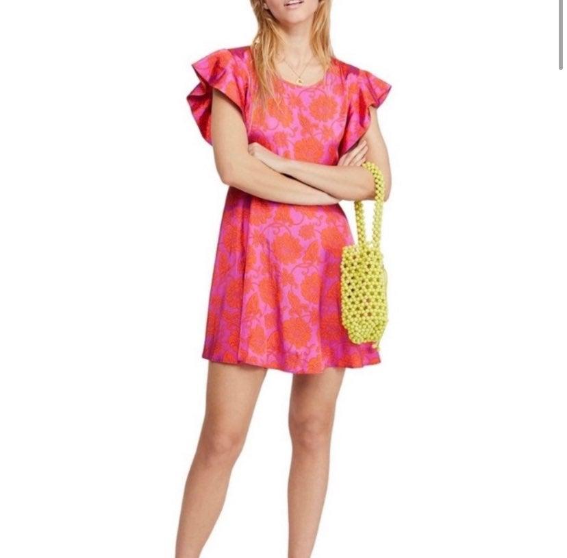 NWOT Free People Electric Posie Dress