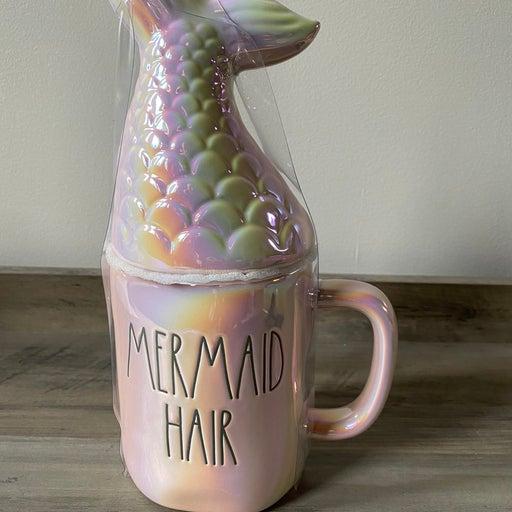 Rae Dunn MERMAID HAIR DON'T CARE mug