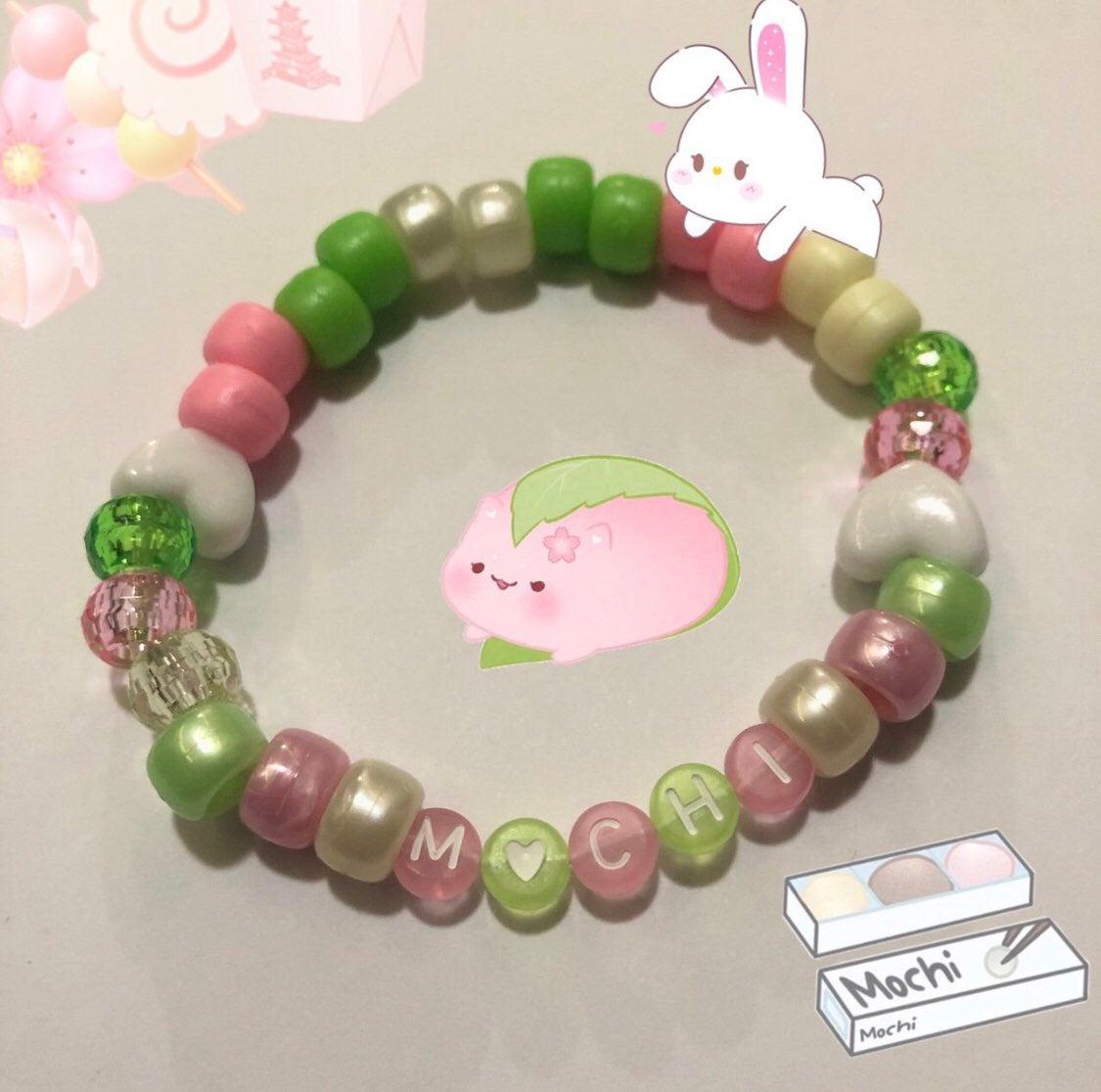 mochi dango kandi bracelet