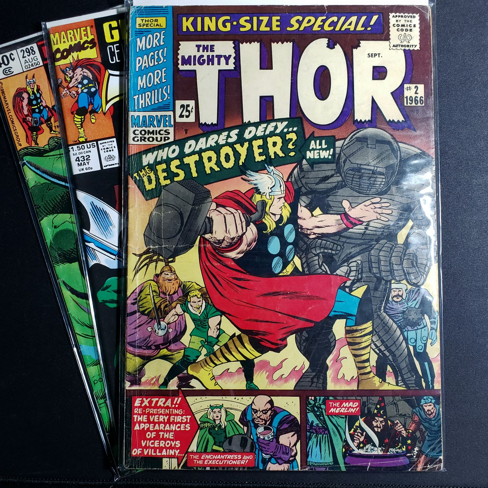 Thor Bundle King Size Special 2 1966