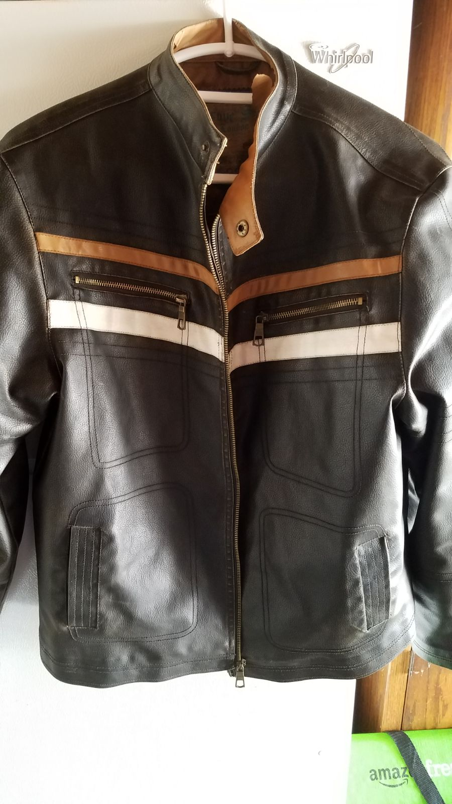 faux leather jacket from Brave Soul Lond