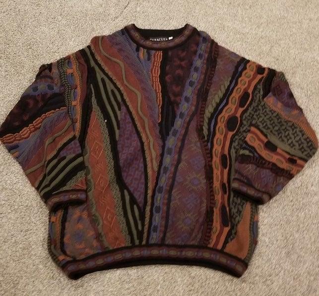 Baracuta Coogi-esque Sweater