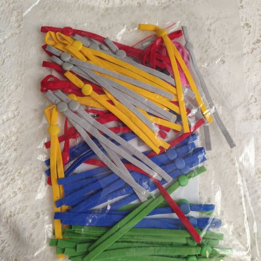 Elastic Sewing Bands multicolor