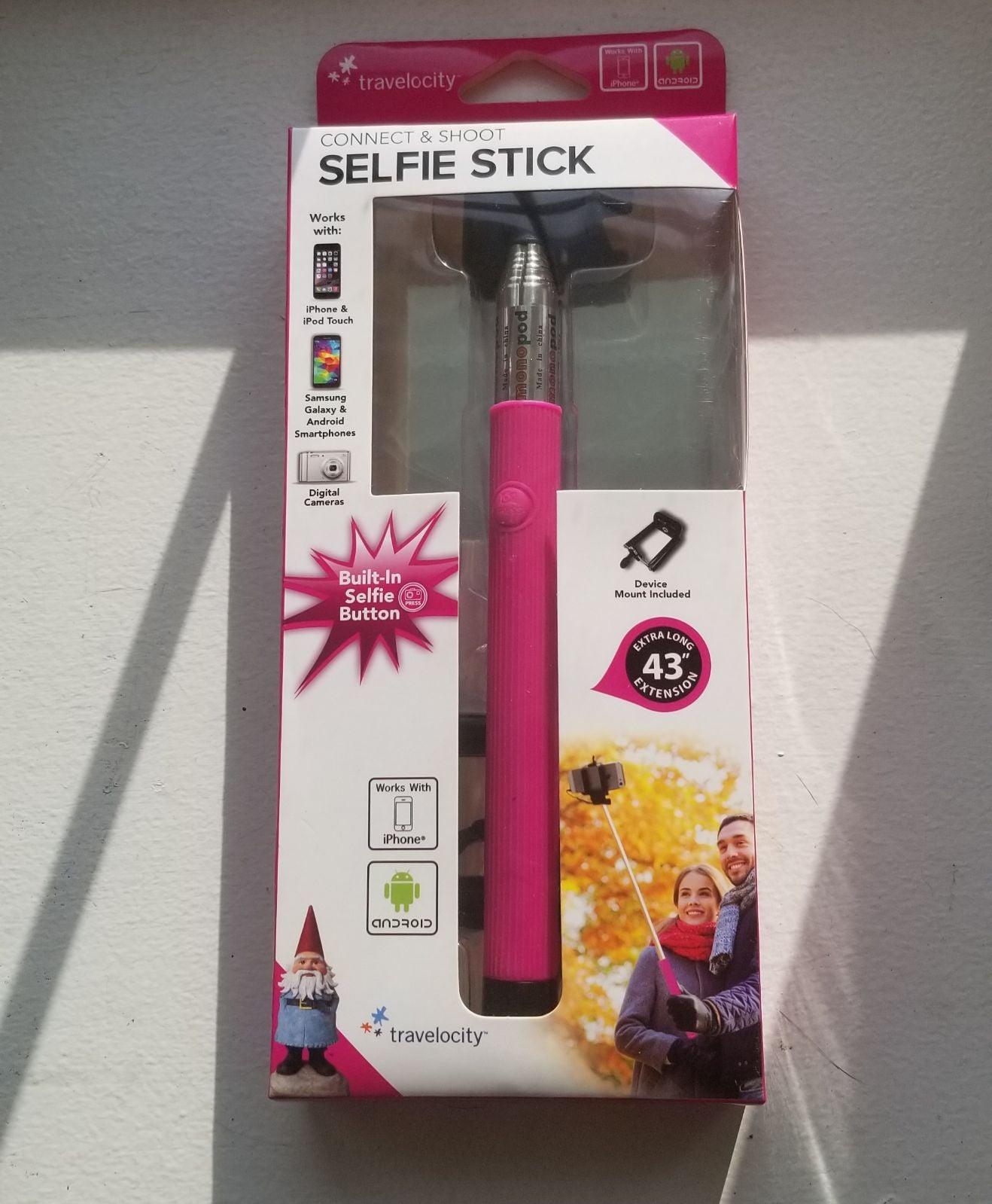 Connect & Shoot Selfie Stick