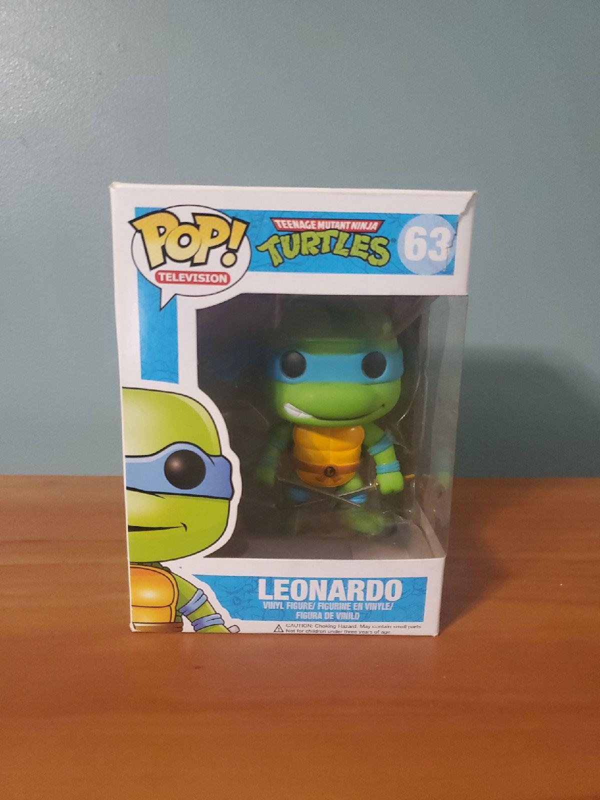 TMNT Leonardo Funko Pop