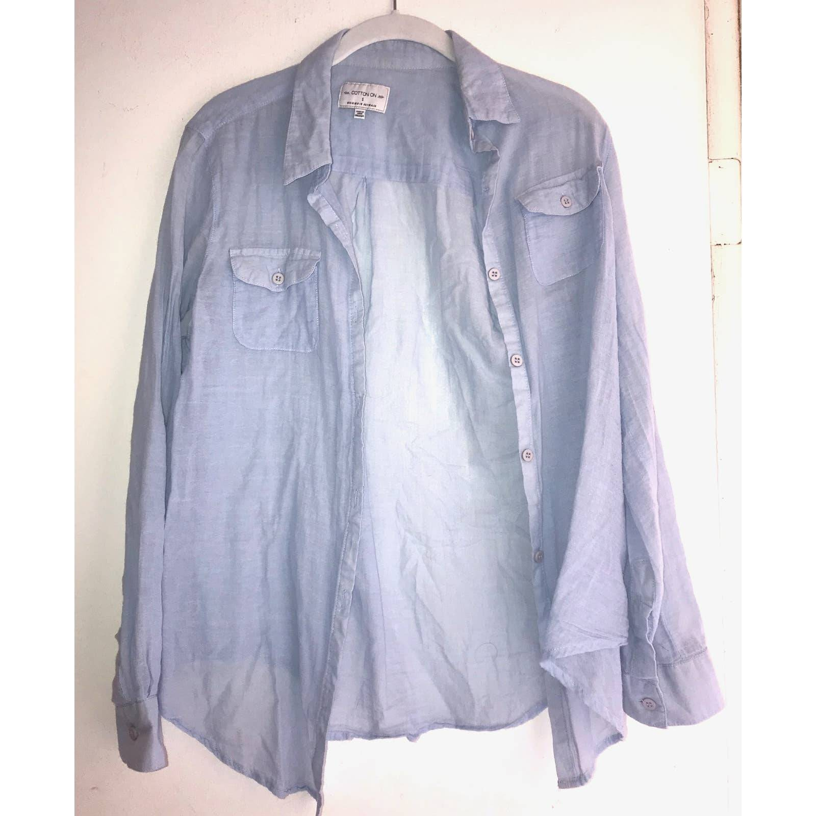 Cotton On Small Blue Blouse