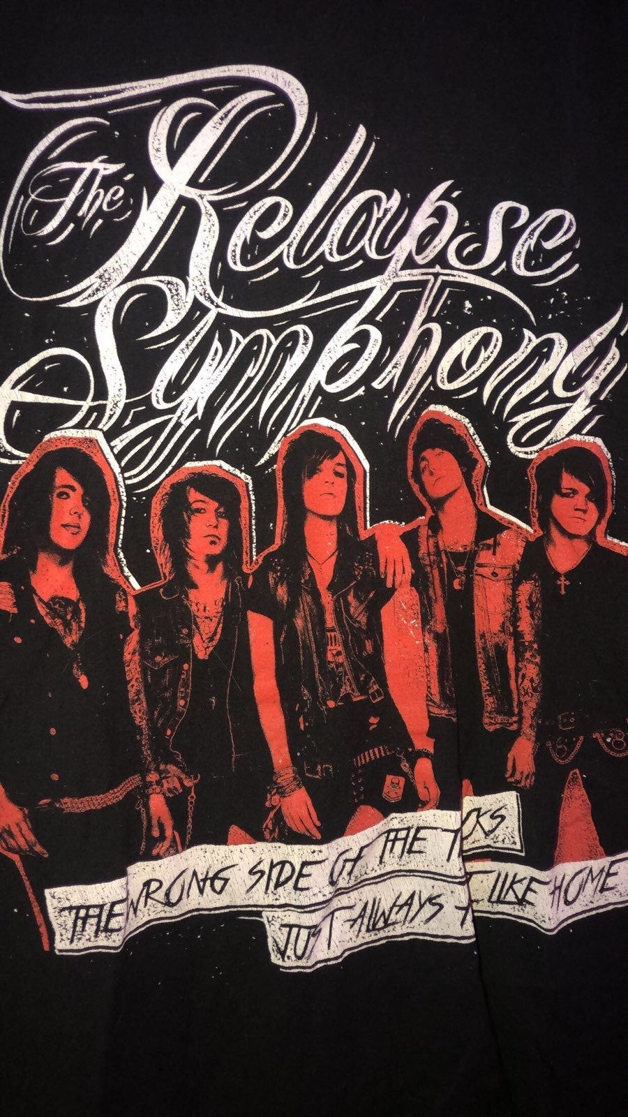 The Relapse Symphony bandtee