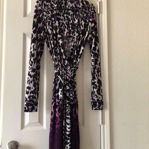 Calvin Klein Wrap Dress Size 12