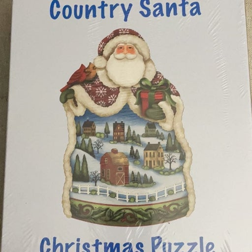 New Current Santa Christmas puzzle