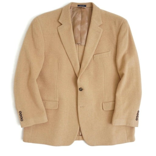 Ralph Lauren Mens Sport Coat Camel Hair