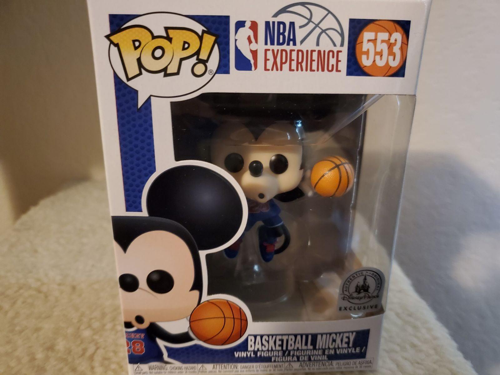 Mickey Mouse NBA Pop