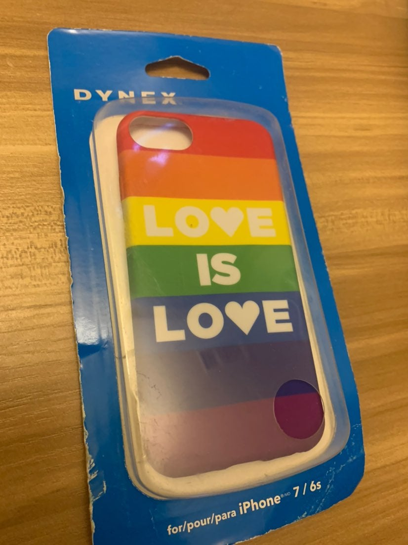 Dynex iPhone 7/6s Love is Love Case