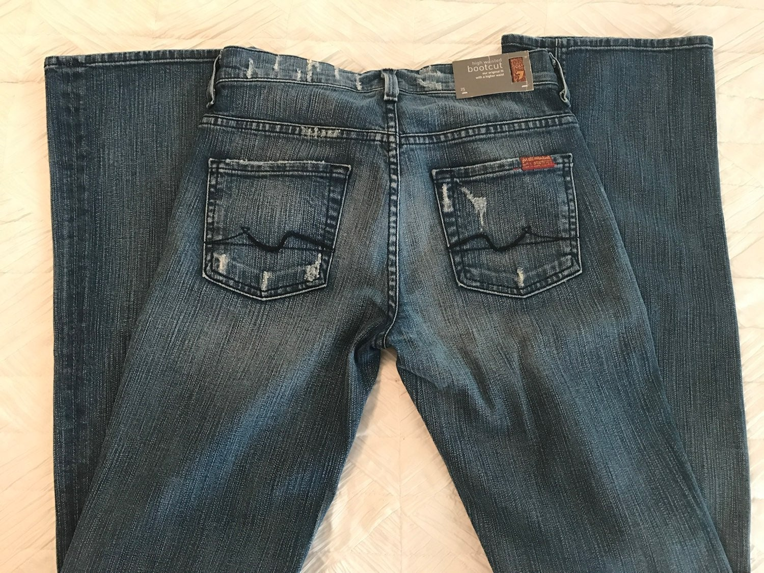 NWT: 7 for all mankind High Waisted Jean
