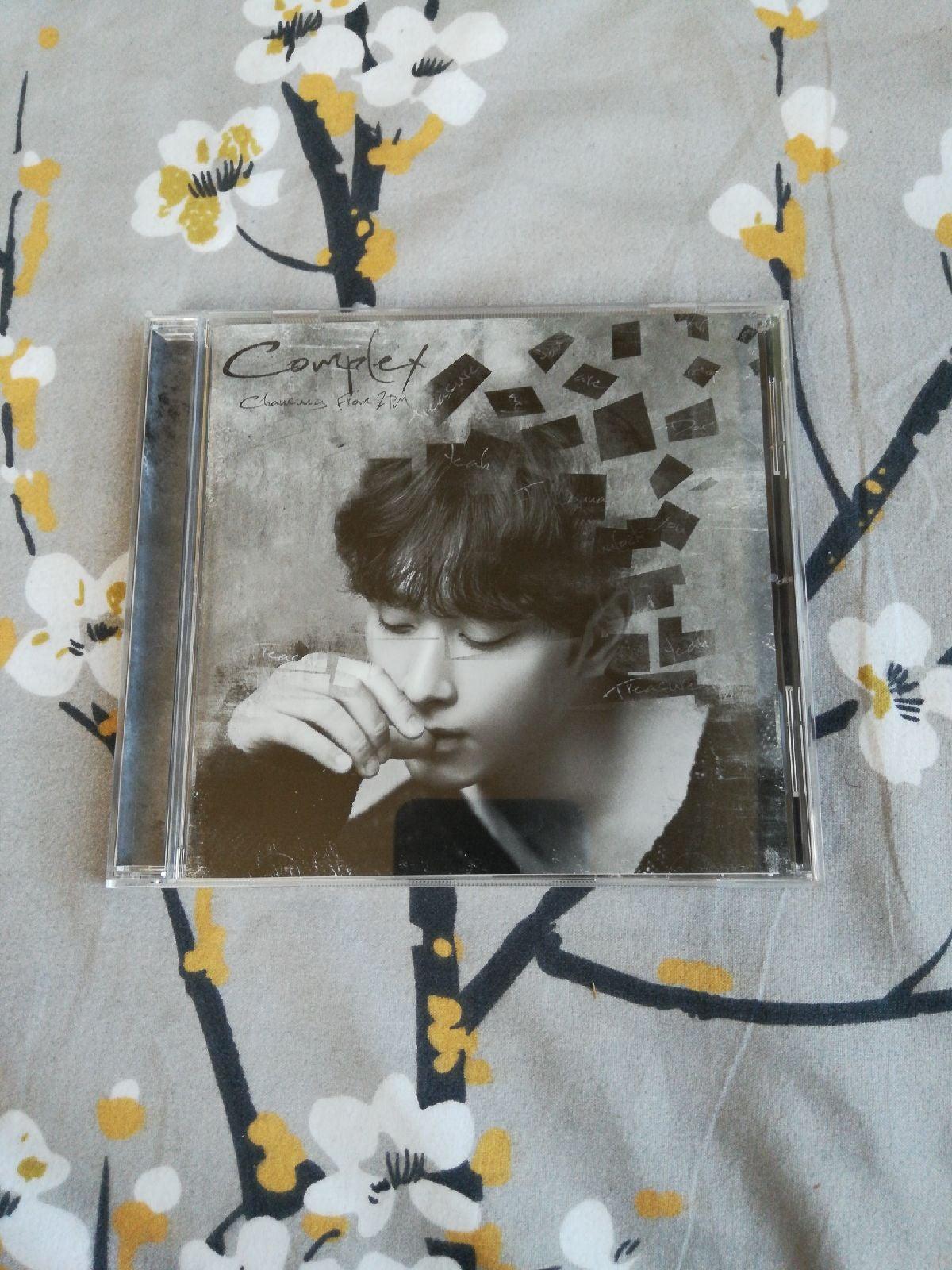 2PM Chansung complex Japan regular cd