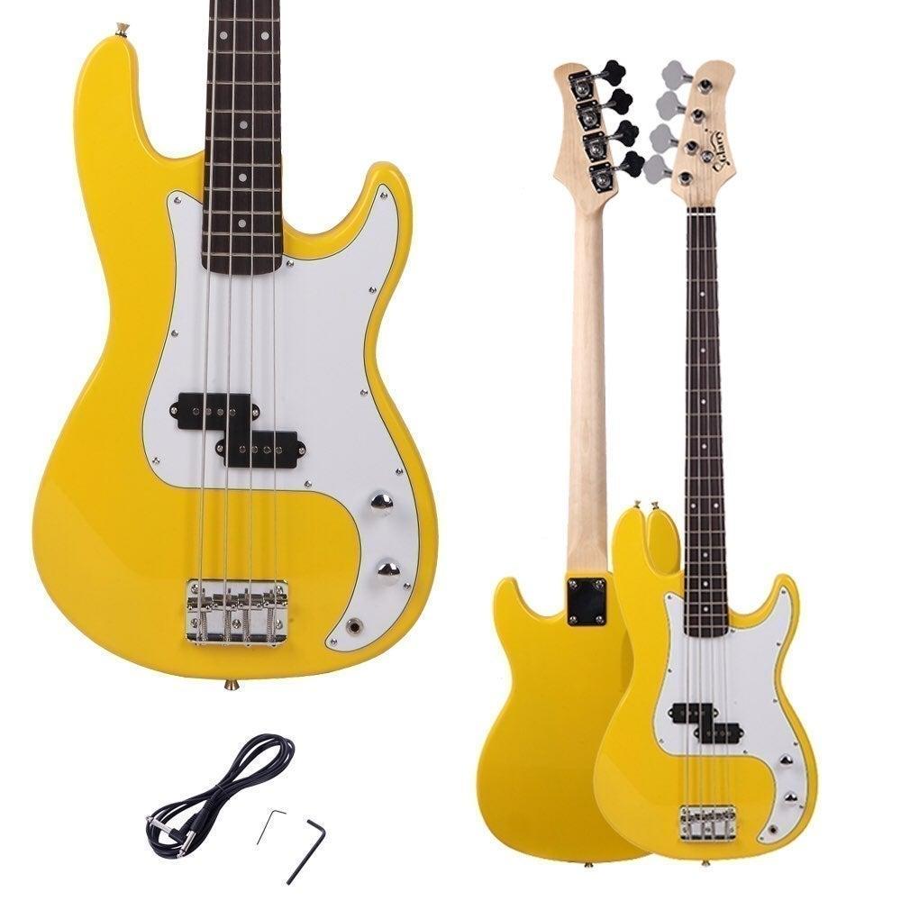 Yellow Glarry Bass Guitar