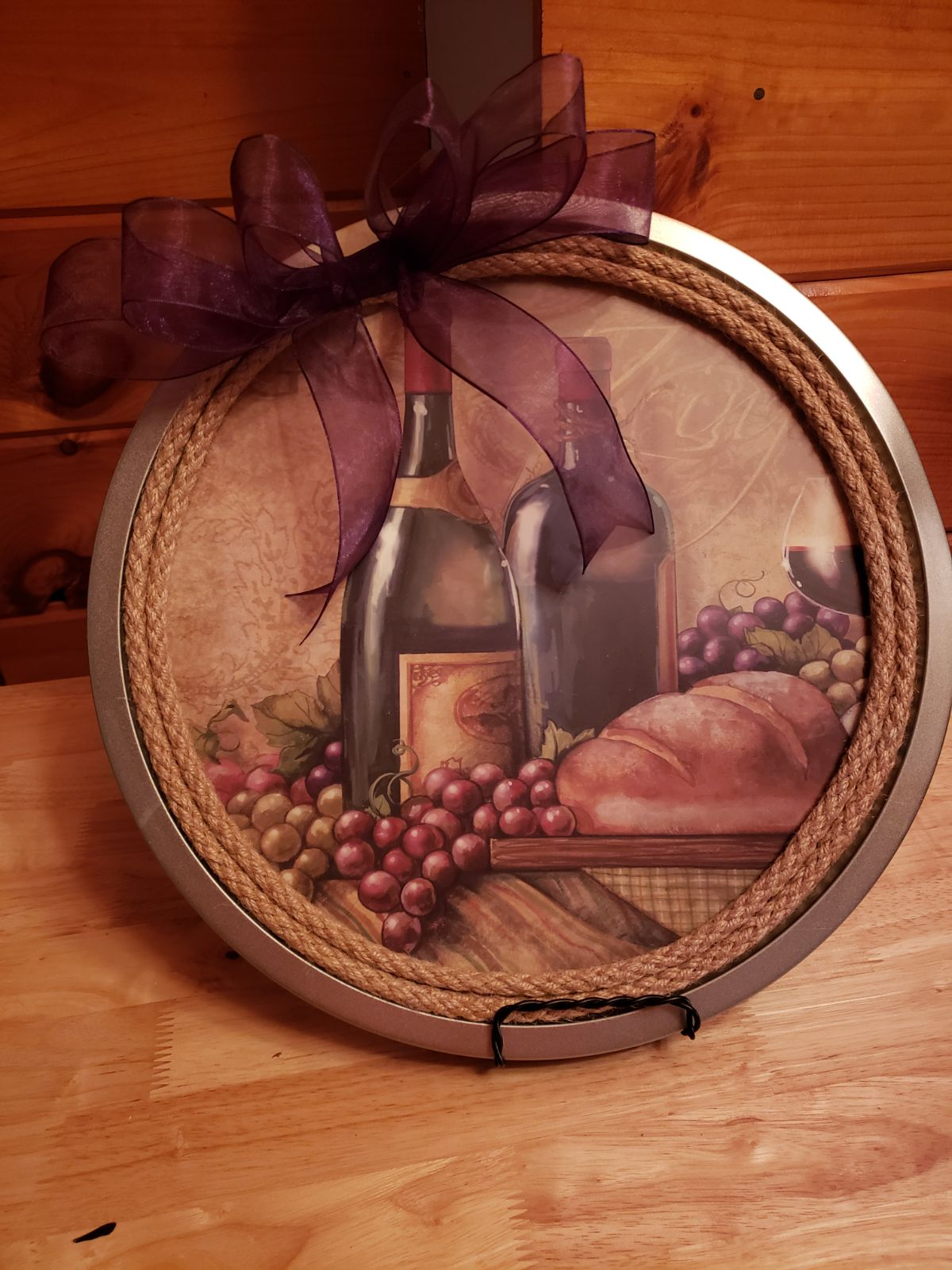 Wine Wallhanging