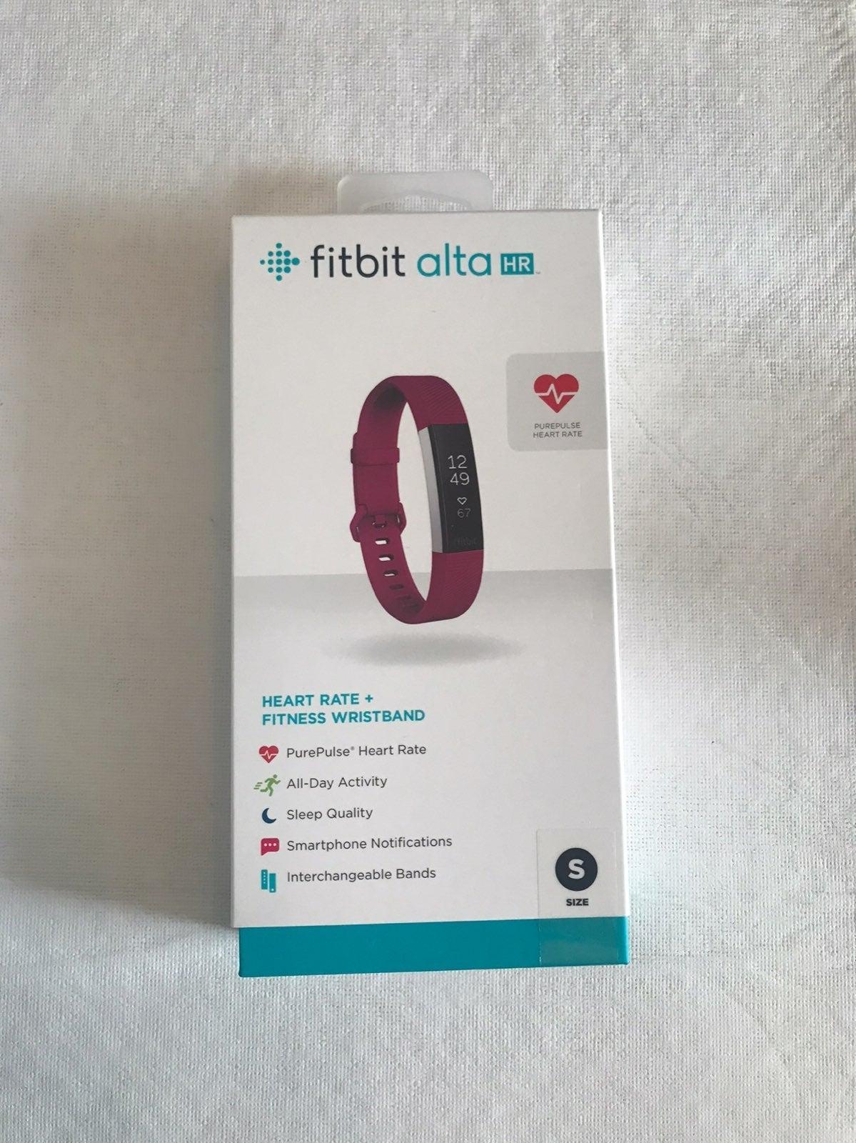 Fitbit - Alta HR Small Fuchsia Band NEW