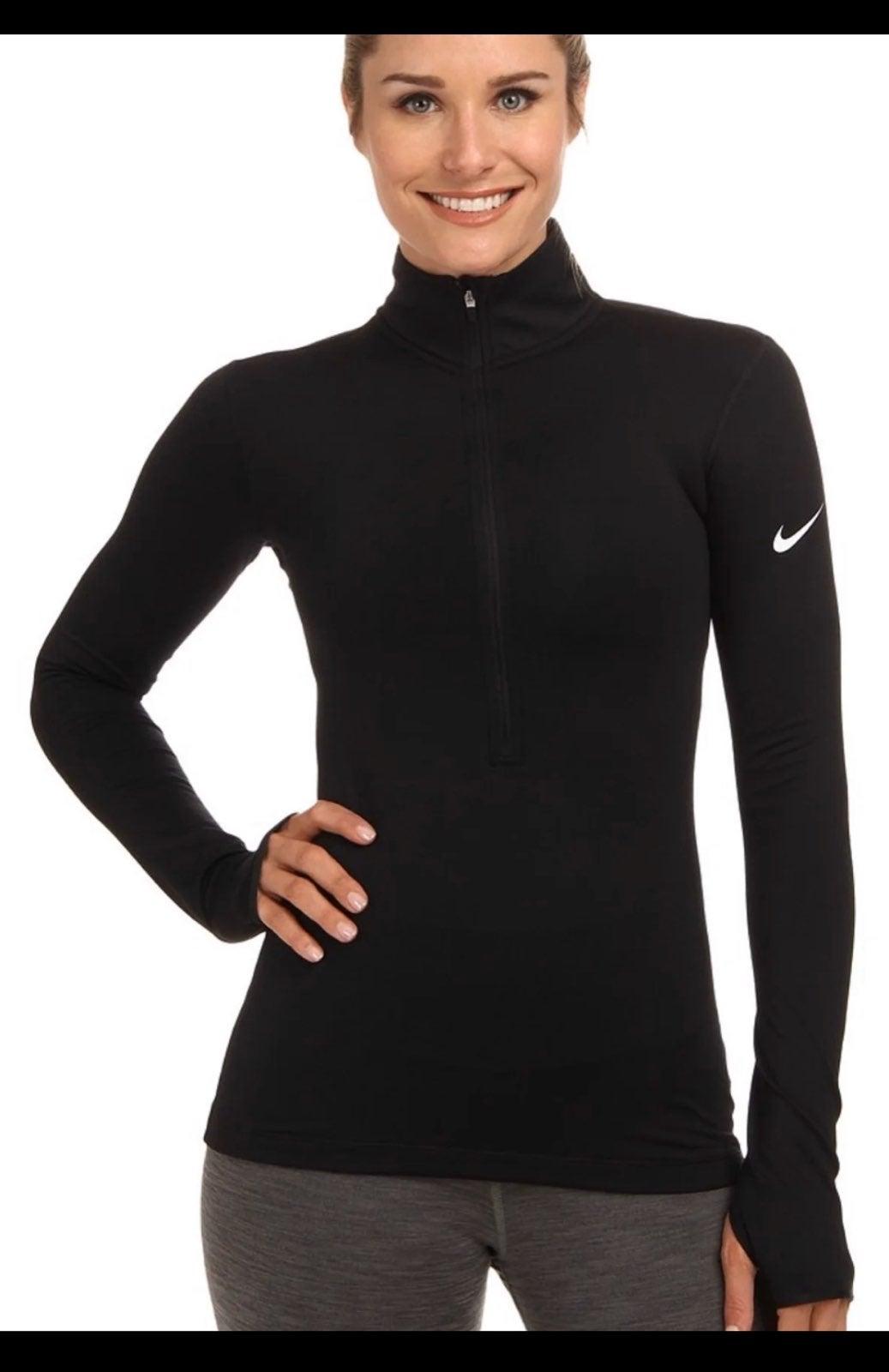 Nike pullover zip drifit