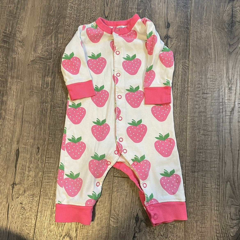 Baby Boden strawberry sleeper
