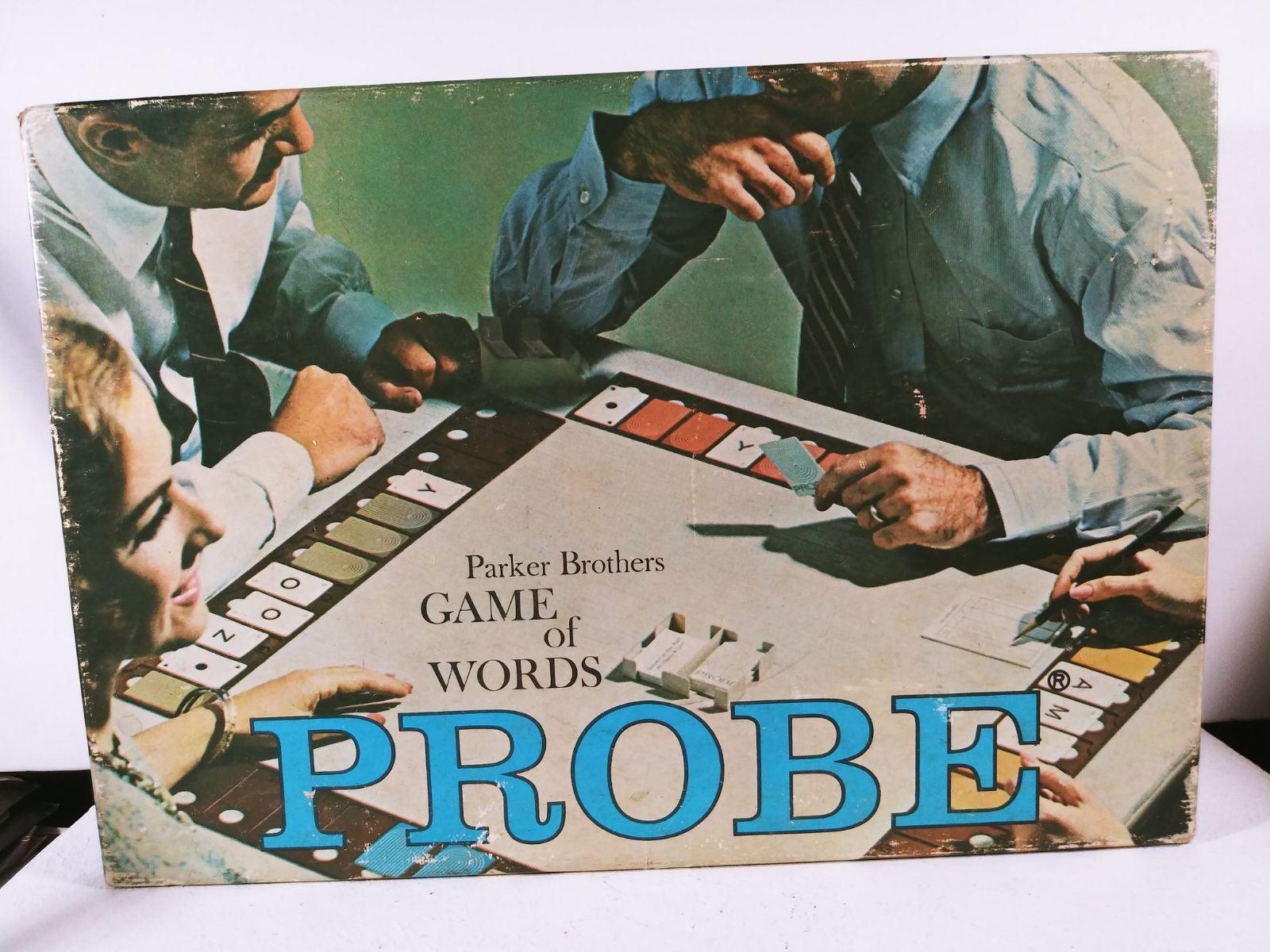 Vintage Board Game, Probe, 1970s